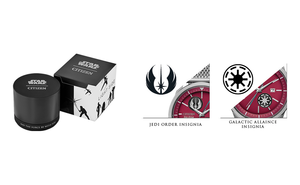 Citizen Limited Edition Star Wars Prequel Duel Watch, Eco-Drive, Anakin Skywalker vs. Obi-wan Kenobi