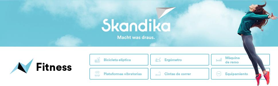 skandika 900 Plus - Plataforma vibratoria - Bluetooth - Bandas de ...