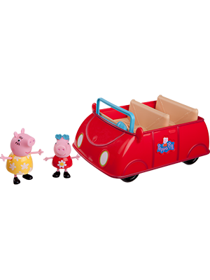 Amazon Com Peppa Pig S Red Car Toys Games