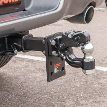 CURT Pintle Hitch Ball Pintle Combination Hook