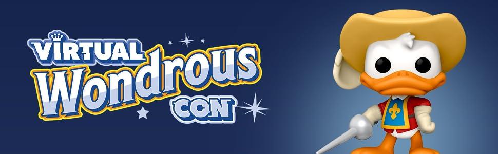 Virtual Wonderous Convention Donald Duck Disney