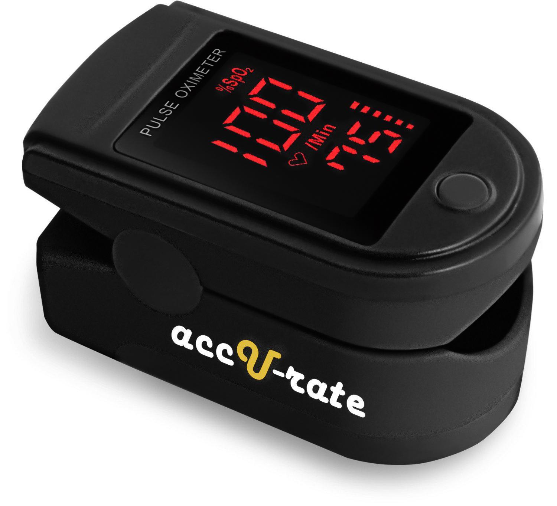 acc u rate pro series 500dl fingertip pulse oximeter blood oxygen saturation monitor. Black Bedroom Furniture Sets. Home Design Ideas