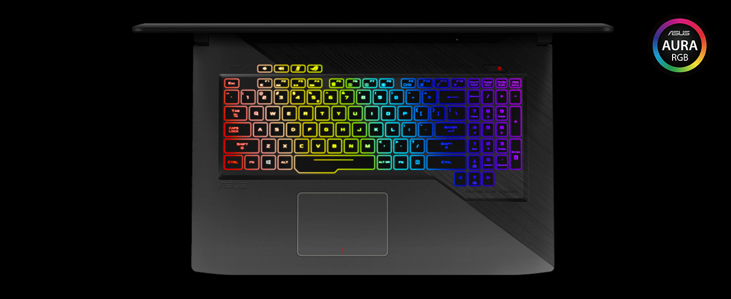 "ASUS ROG STRIX Gaming Laptop, 15 6"" IPS-Type Full HD, Intel Core i7-7700HQ  Processor, GeForce GTX 1050 4GB, 16GB DDR4, 1TB FireCuda SSHD, RGB, Windows"