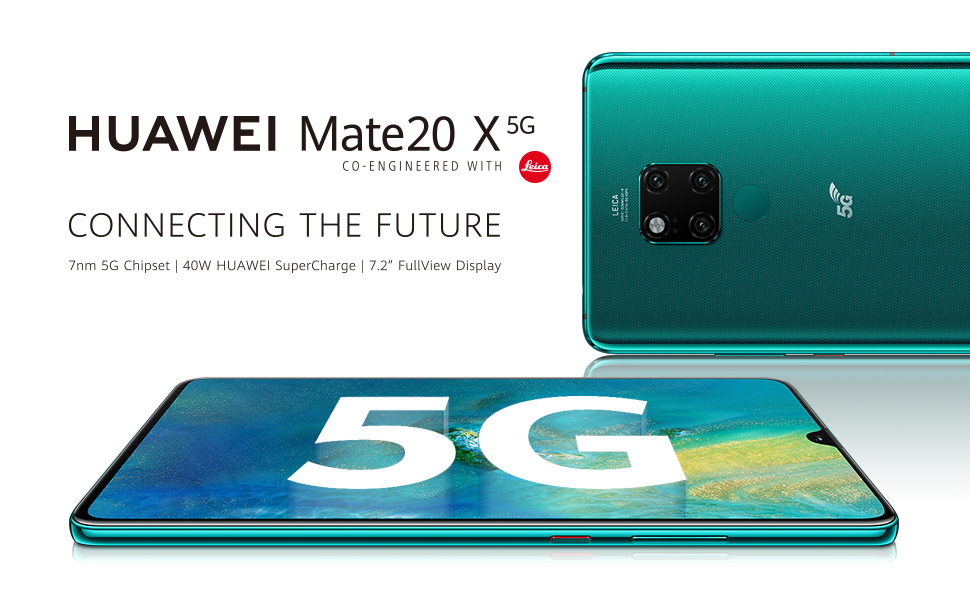 huawei mate20 X 5G android smartphone
