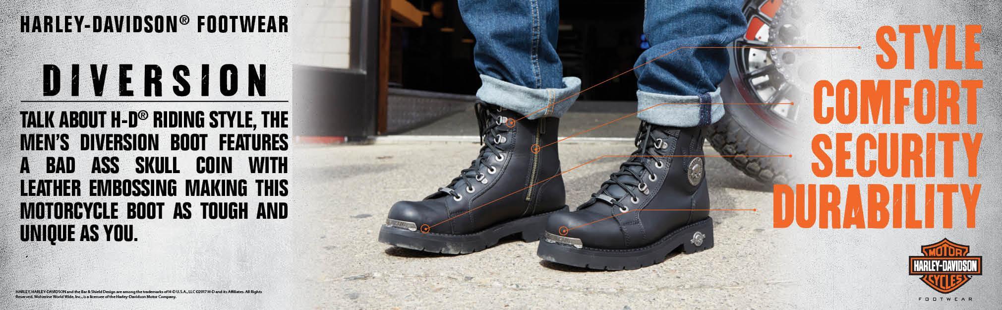 9d05c7a13e1 Harley-Davidson Men's Diversion Boot