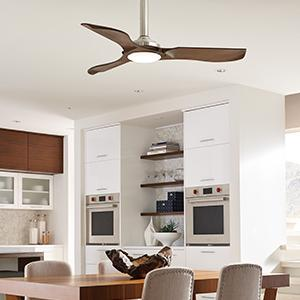 Monte carlo 3mnlr56bsd minimalist 56 indooroutdoor ceiling fan view larger aloadofball Gallery