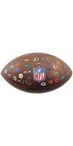 Wilson WTF1534XBDL Pelota de fútbol Americano NFL JR Team Dallas ...