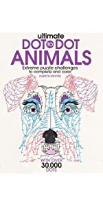 Puzzles; games; coloring; coloring books; doodling; dot-to-dot; coloring books for adults
