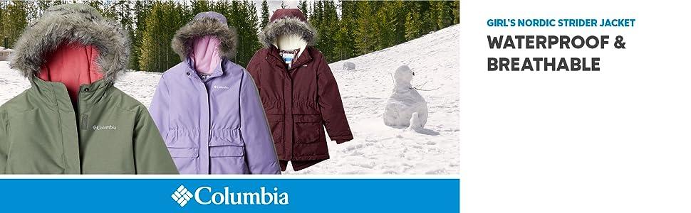 Columbia Girl's Nordic Strider Winter Jacket