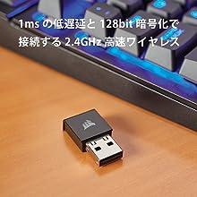 2.4GHz高速ワイヤレス