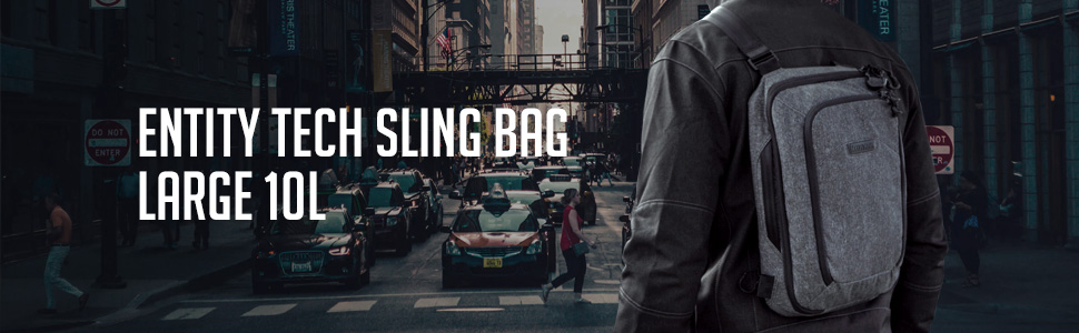 Entity Tech Sling Bag Large 10L