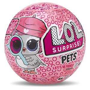 LOL surprise pets animaux boule jaune poupée unboxing déballer collection jouet fille