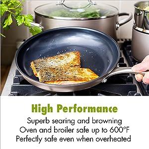 GreenPan, Ceramic, Non-stick, nonstick, cookware, set, Frypan