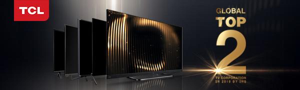 Global top 2 TCL tv corporation