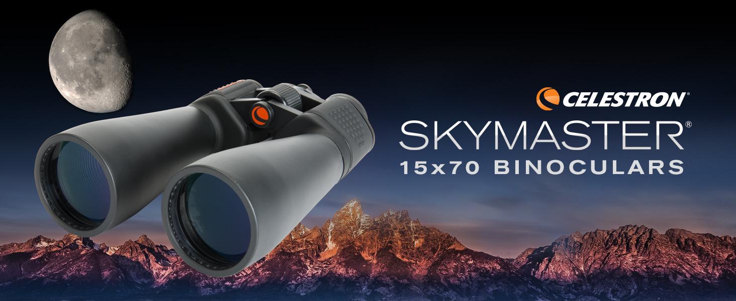SkyMaster 15x70mm Porro Binocular