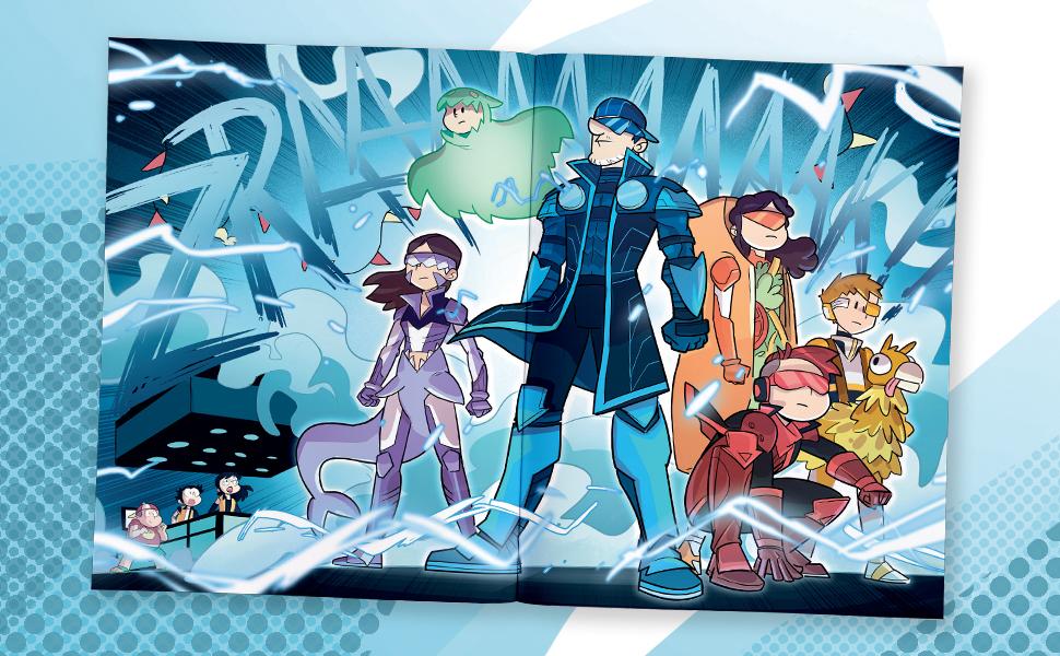 comic, superhero, graphic novel