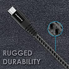 durable usb cable for charging