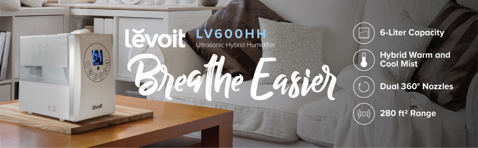 Levoit Humidifiers Vaporizer Warm And Cool Mist