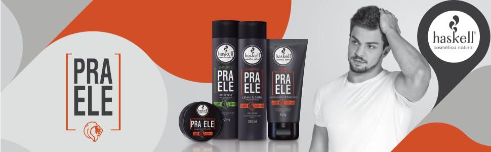 linha pra ele, linha masculina, cabelos limpos, controle da caspa e oleosidade