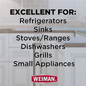 For Refrigerators Sinks Stoves Ranges Dishwashers Grills Small Appliances