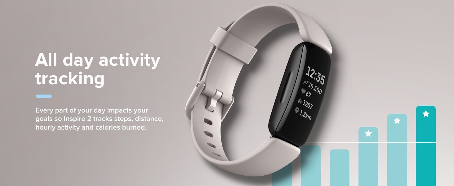 Fitbit Inspire 2 - All day activity tracking