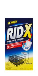 Amazon.com: RID-X Septic Tank Treatment Enzymes, 6 Month