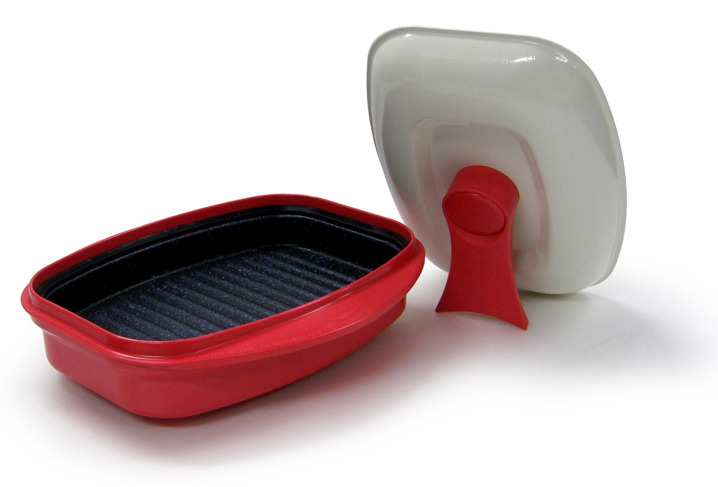 Amazon.com: Microhearth Grill Pan for Microwave Cooking