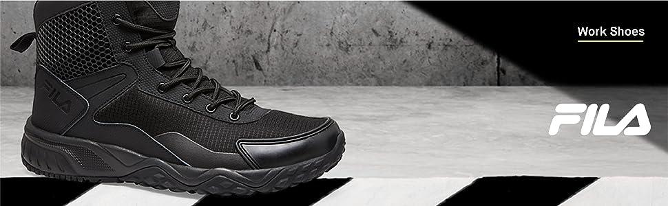 Tactical Boot Food Service Shoe, Black