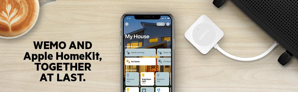 Wemo Bridge adds Wemo compatibility to the Apple HomeKit