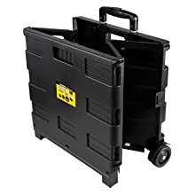 Olympia Tools 85-010 Grand Pack-N-Roll Portable Cart partially unfolded.