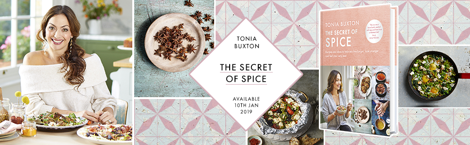 Tonia Buxton, Health, Lifestyle, Recipes, Spice, Spices, Botanicals