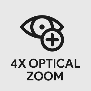 4K Optical Zoom