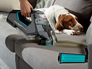 portable deep cleaner pet messes dirt lifter brush rotating stain eraser