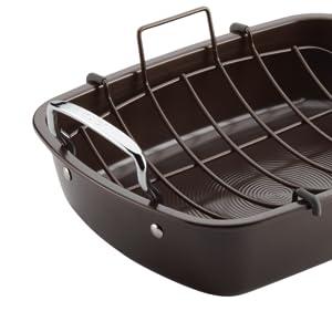roaster, nonstick roaster, circulon roaster, roasting pan