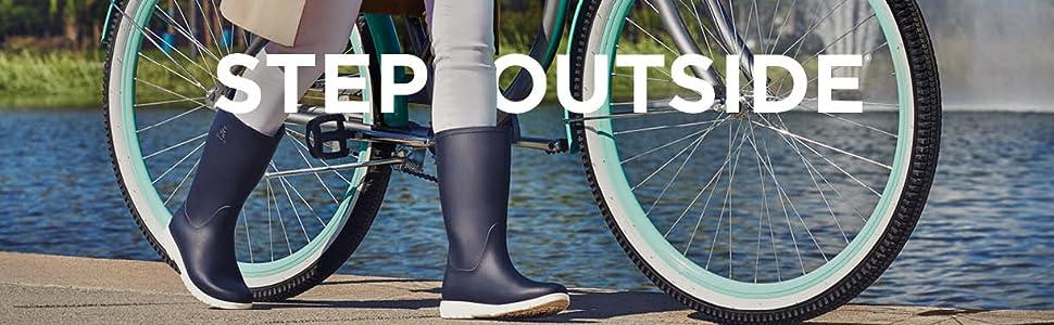 Kamik, step ouside, rain boots, jessie