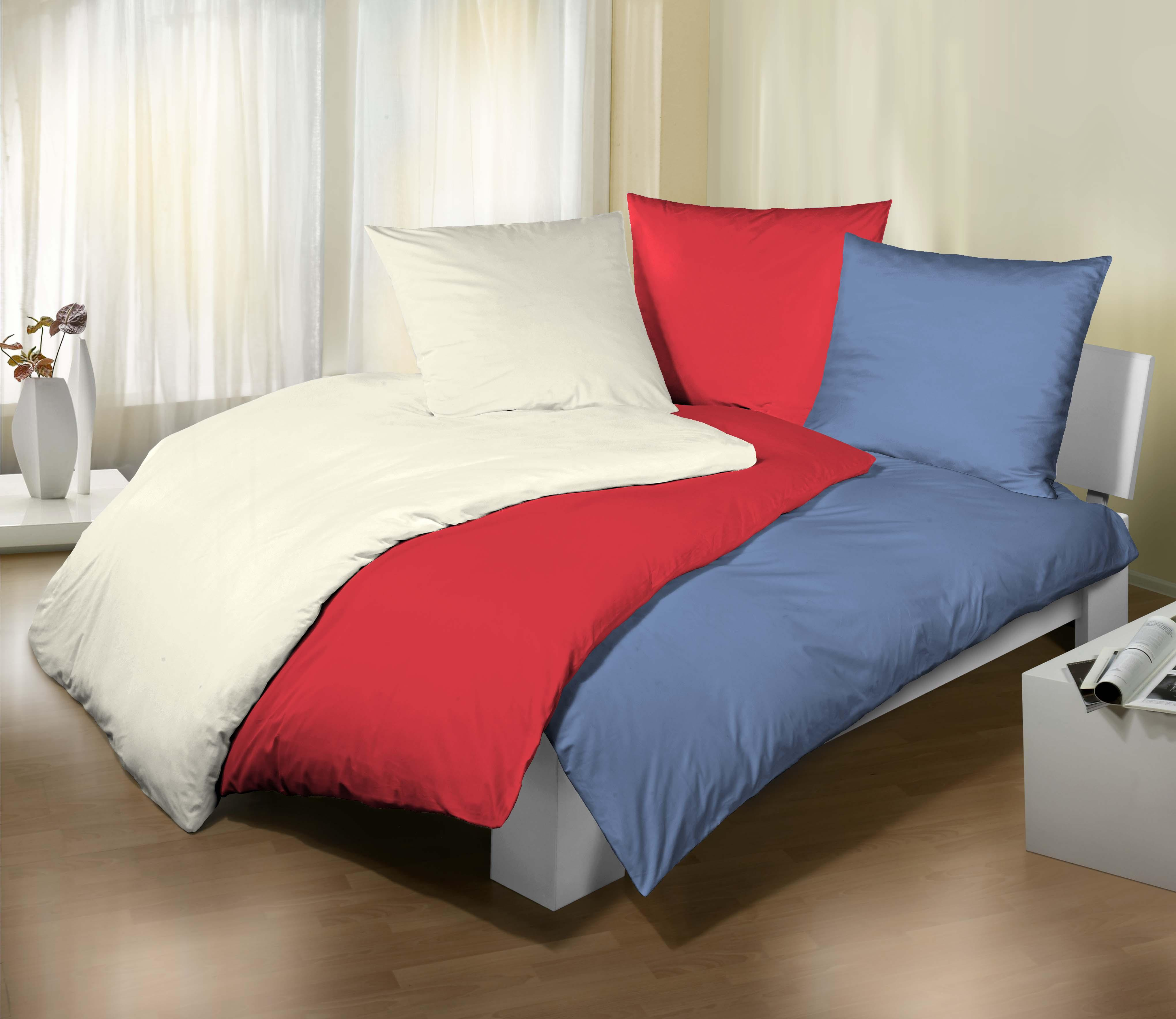 castell 0040500 bettw sche set baumwoll nach ko texstandard 100 80x80 135 200 cm wei. Black Bedroom Furniture Sets. Home Design Ideas
