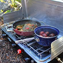 camp cooking, camp kitchen