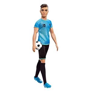 Amazon.com: Barbie Careers Ken - Muñeca para jugador de ...