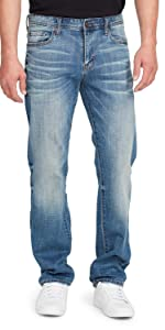 william rast men's legacy relaxed fit denim jeans