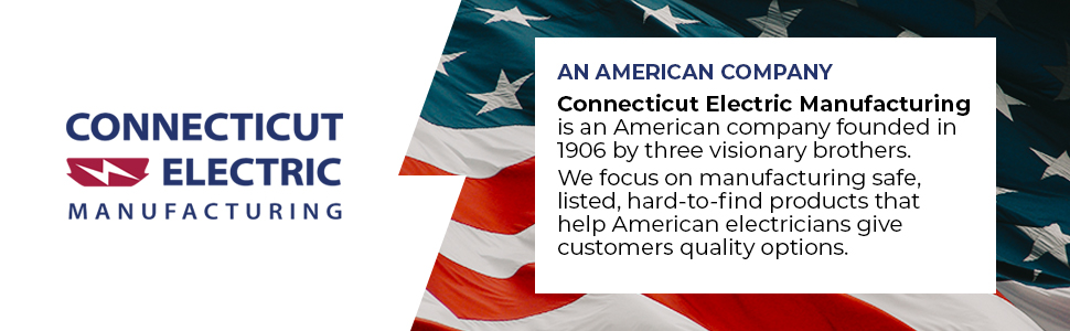 Connecticut Electric Manufacturing is an American company founded in 1906.