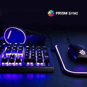 steelseries apex M750 teclado mecánico para juegos