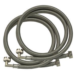 washer hoses, washing machine hoses, washing machine steel connector, washing machine water connect