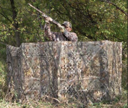 Amazon Com Hunters Specialties Camo Leaf Blind Material Realtree Advantage Max 5 Sports Outdoors