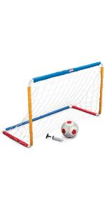 MGA Entertainment Little Tikes Easy Score Soccer Set w/net + Ball + Pump