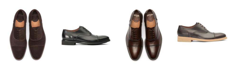 Lottusse L6591, Zapatos de Cordones Oxford para Hombre