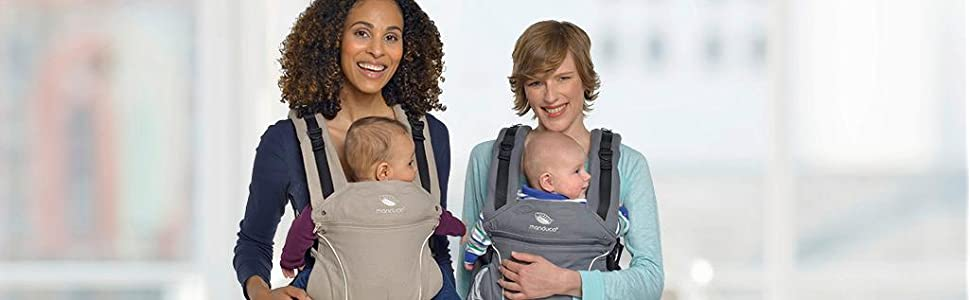 manduca PureCotton Babytrage, baby carrier