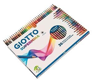 giotto; supermina; matite colorate; matita esagonale; matite per bambini; colori per la scuola