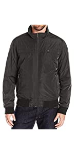 Tommy Hilfiger Mens Performance Barracuda Bomber