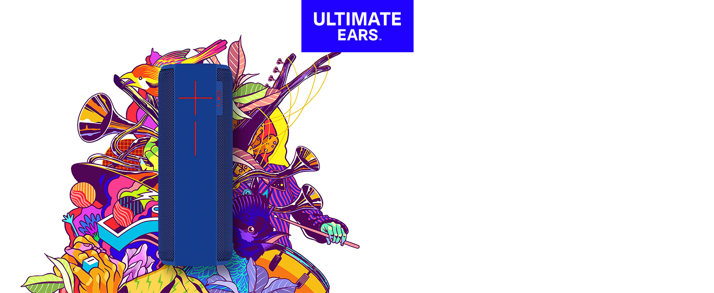 Ultimate Ears Megaboom Plum Wireless Mobile Bluetooth From The Manufacturer