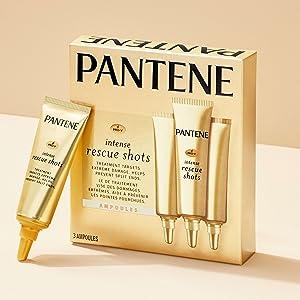 Pantene, hair treatments, rescue shots